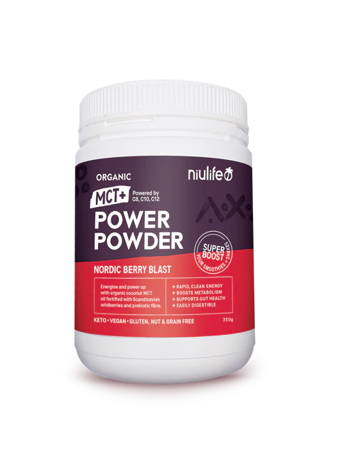Niulife Power Powder- Nordic Berry Blast - General Health / Vitamins - WholeSupps Online Mega Store