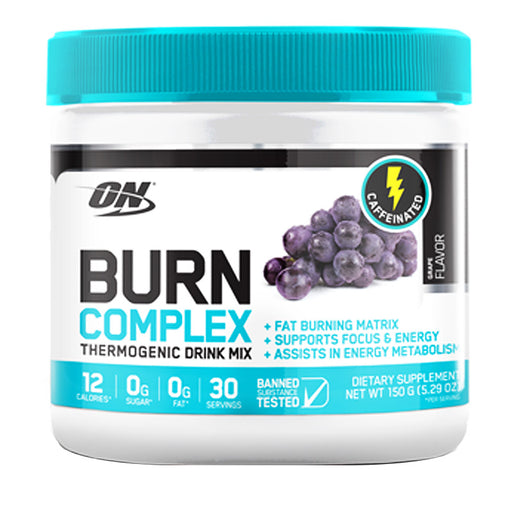 ON Burn Complex Thermogenic Drink - Caffeinated (150g) - Fat Burners & Weight Loss - WholeSupps
