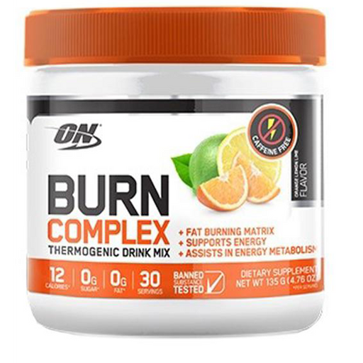 ON Burn Complex Thermogenic Drink - Caffeine Free (135g)