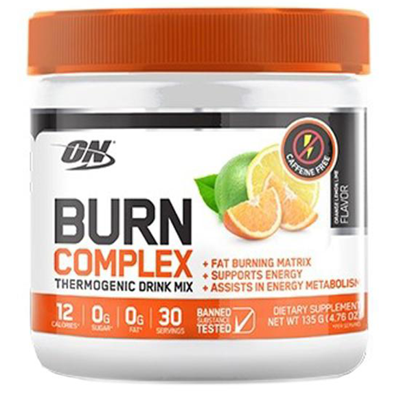 Burn Complex Thermogenic Drink (Non-Stim) by Optimum Nutrition - Fat Burners & Weight Loss - WholeSupps Online Mega Store