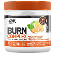 ON Burn Complex Thermogenic Drink - Caffeine Free (135g) - Fat Burners & Weight Loss - WholeSupps