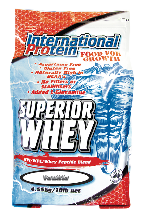 Superior Whey protein by International Protein - Protein Powder - WholeSupps