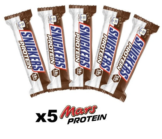 Snickers protein bar 5 pack - Protein Bars, Drinks & Snacks - WholeSupps Online Mega Store