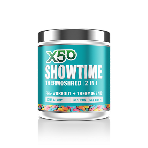 X50 SHOWTIME Thermoshred Fat Burner