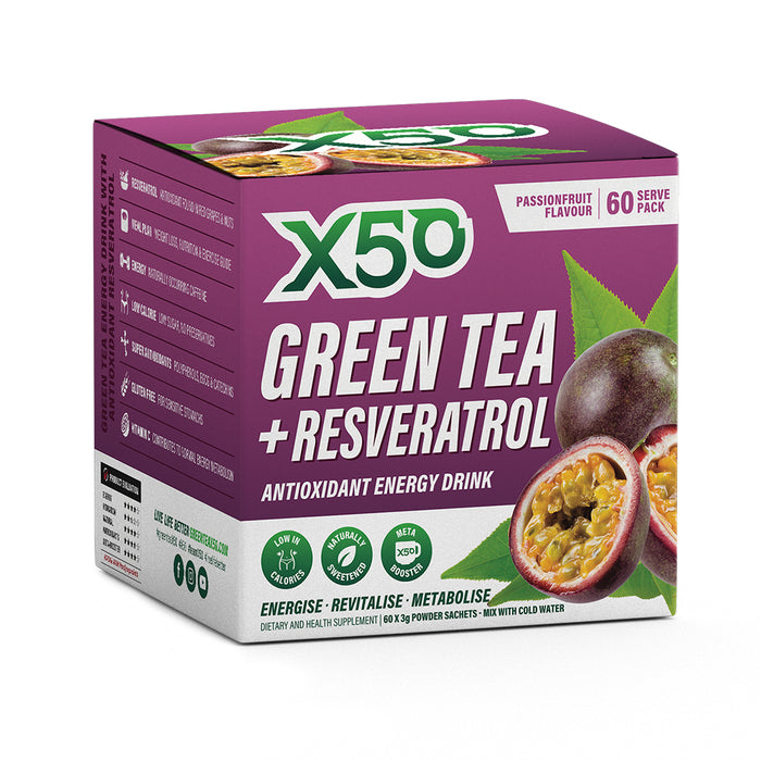 Green Tea X50 - Fat Burners & Weight Loss - WholeSupps Online Mega Store
