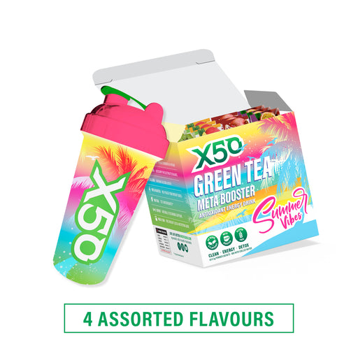 Summer Vibes Green Tea gift set by X50