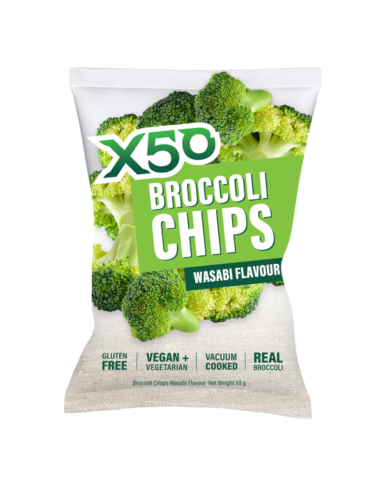 Broccoli Chip 10 Pack by Green Tea X50