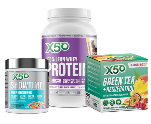 X50 Ultimate Weight Loss Bundle - Fat Burners & Weight Loss - WholeSupps Online Mega Store