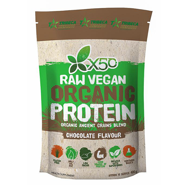 Raw Vegan Protein by Green Tea X50 - Protein Powder - WholeSupps Online Mega Store