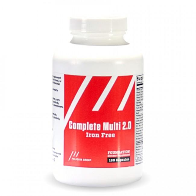 Complete Multi 2.0 Iron Free - Vitamins - WholeSupps