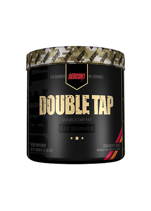 Double Tap Fat Burner by Redcon1 - Fat Burners & Weight Loss - WholeSupps Online Mega Store