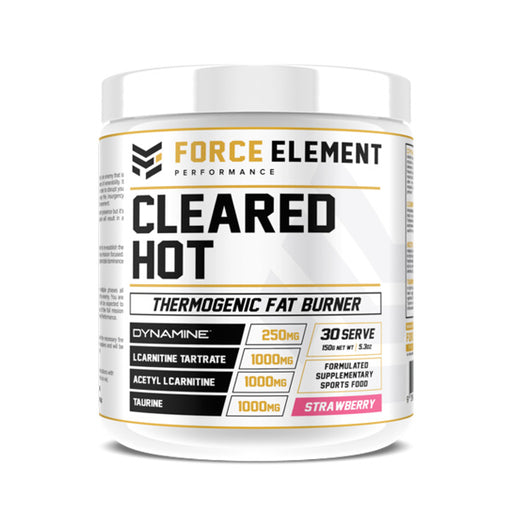 Cleared Hot by Force Element - fat burner - WholeSupps Online Mega Store