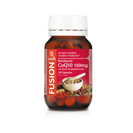 Fusion Health - CoQ10 150mg - Vitamins - WholeSupps