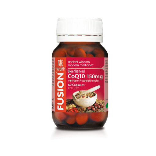 CoQ10 150mg by Fusion Health - Vitamins - WholeSupps Online Mega Store