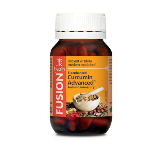 Fusion Health - Curcumin Advanced - Vitamins - WholeSupps