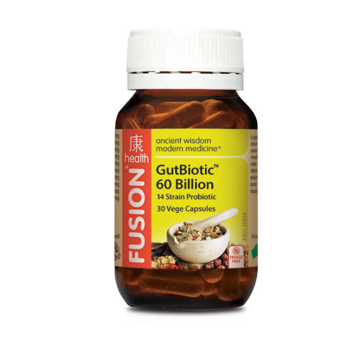 Fusion Health - GutBiotic 60 Billion - General Health / Vitamins - WholeSupps