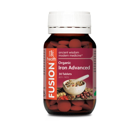 Fusion Health - Iron Advanced - Vitamins - WholeSupps