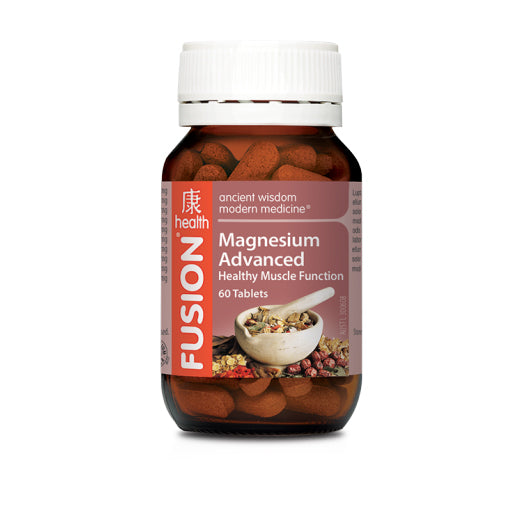 Fusion Health - Magnesium Tablets - Vitamins - WholeSupps
