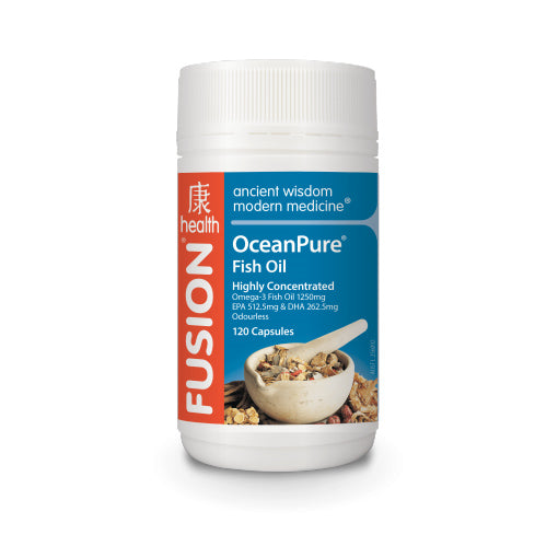 OceanPure Fish Oil by Fusion Health - Vitamins - WholeSupps Online Mega Store