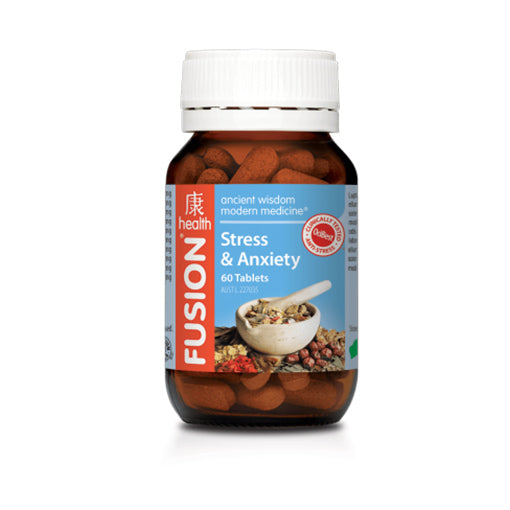 Stress & Anxiety by Fusion Health - Vitamins - WholeSupps Online Mega Store