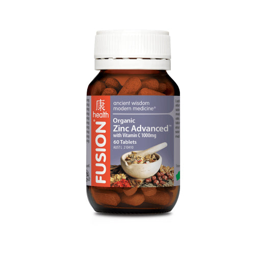 Fusion Health - Zinc Advanced - Vitamins - WholeSupps