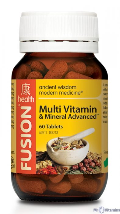 Multi Vitamin & Mineral Advanced by Fusion Health