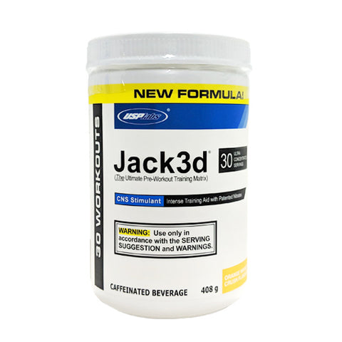 Jack3d by USP Labs - New Formula! - Pre Workouts - WholeSupps