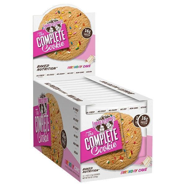 The Complete Cookie by Lenny and Larry's - Healthy Snacks - WholeSupps Online Mega Store