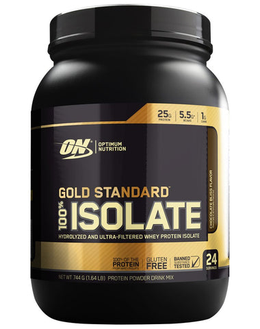 Gold Standard 100% Isolate - Protein Powder - WholeSupps