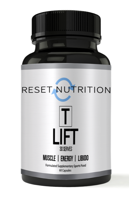 T Lift by Reset Nutrition - testosterone booster - WholeSupps Online Mega Store