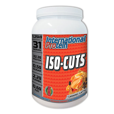International Protein ISO CUTS - Protein Powder - WholeSupps