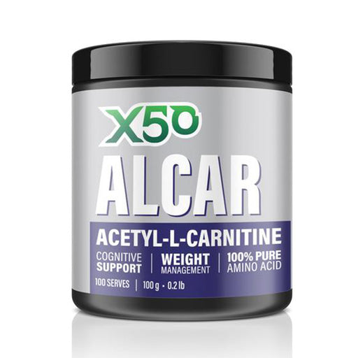 ALCAR Acetyl L-Carnitine by Green Tea X50 - Amino Acid - WholeSupps Online Mega Store