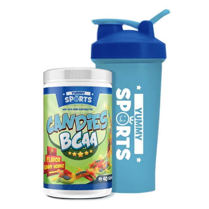Yummy Sports Candies BCAA 40 Serves - Amino Acid - WholeSupps
