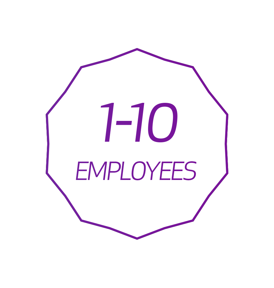 Employee Discount 1-10 Employees