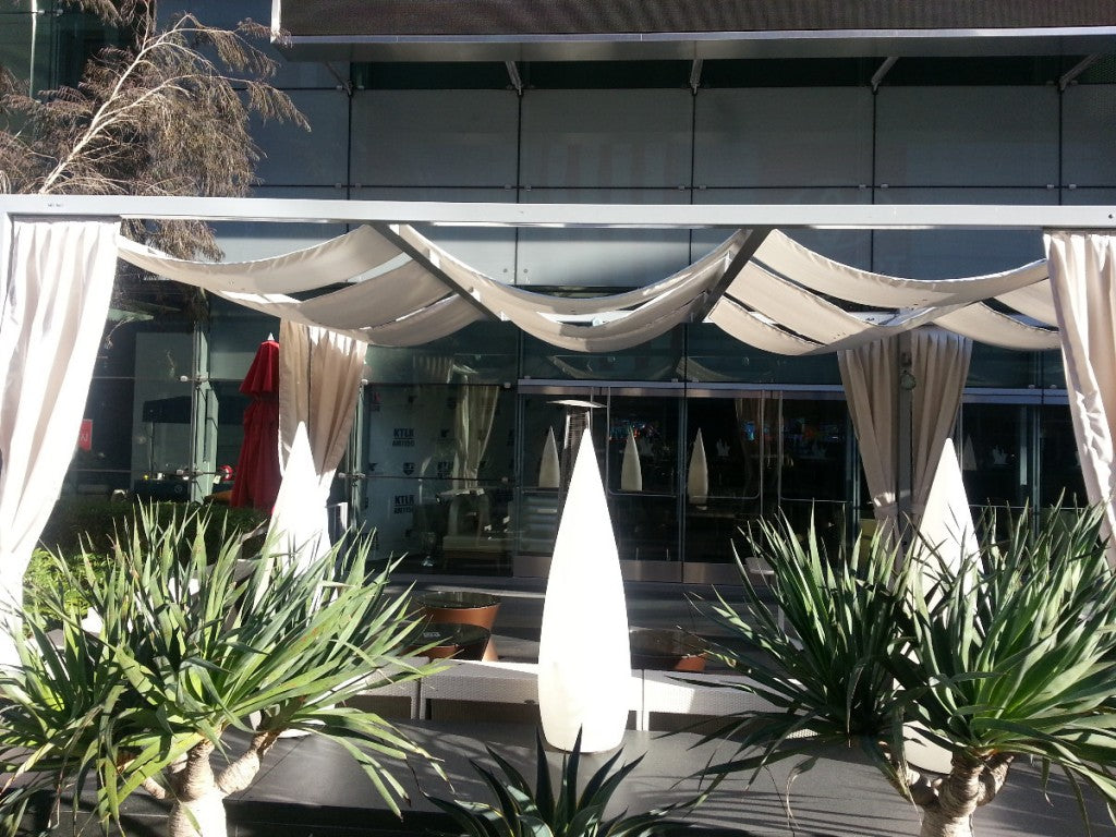 LA LIVE OUTDOOR CURTAINS