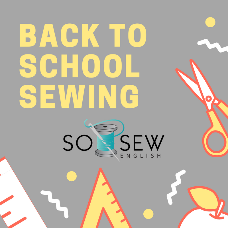 School Day Sewing