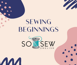 Wanna Be Startin' Some Sewing