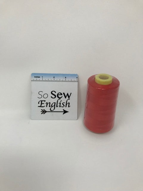 RED APPLE Multi Purpose Thread - 6,000 yards- Sold by the Cone
