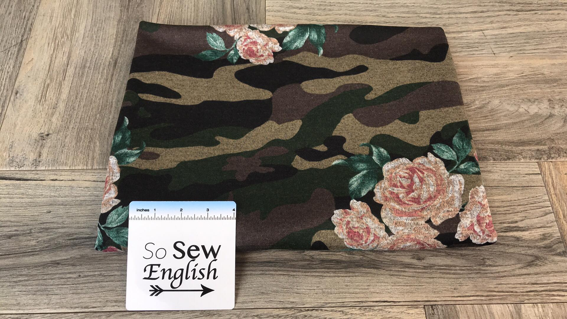 Camo Floral - Hacci - By The Yard