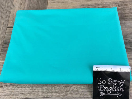 Solid SEAFOAM - Brushed Yoga Performance -By The Yard