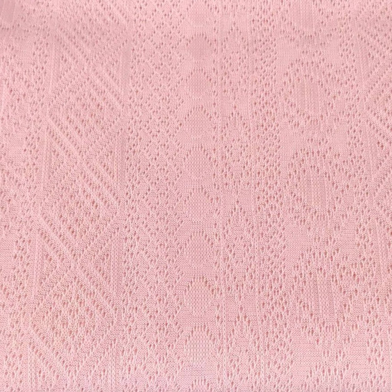Solid Pink -Light Gauge Sweater Knit- By The Yard