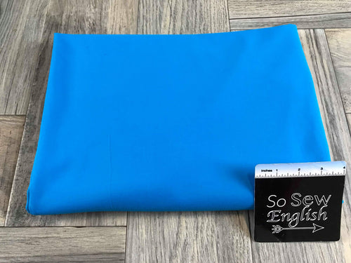 Solid Bright Blue -390gsm Supplex -By The Yard
