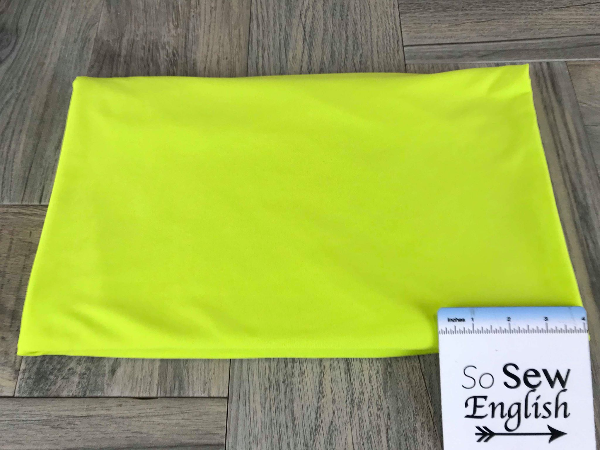 Solid Neon Green -Swim -By The Yard