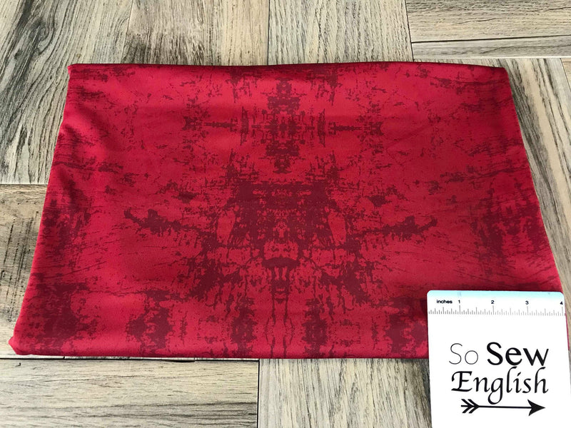 "Red ""Distressed"" -Swim -By The Yard"