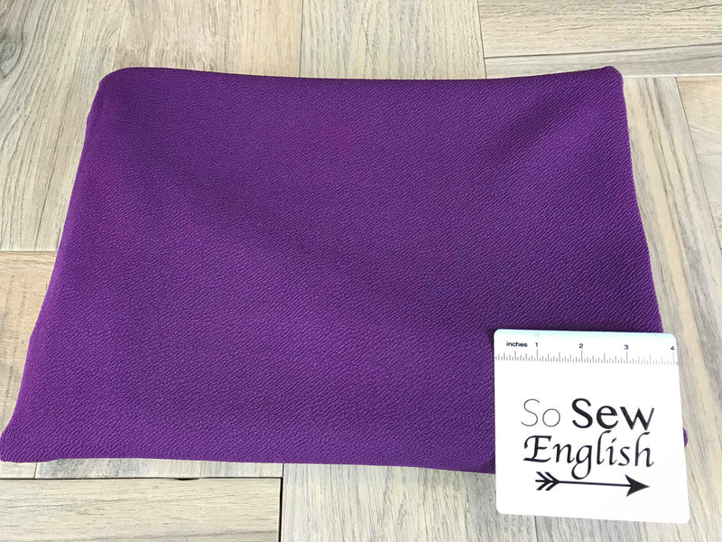 Solid Purple- LIVERPOOL Knit - By the yard