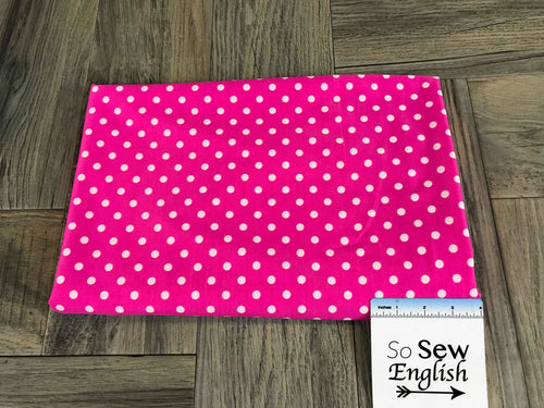 Fuchsia Dot -Swim -By The Yard