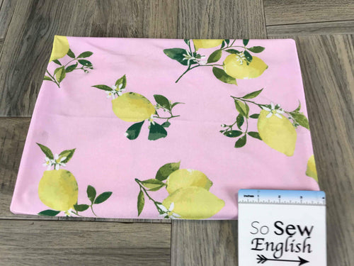 Pink Lemons -Swim -By The Yard