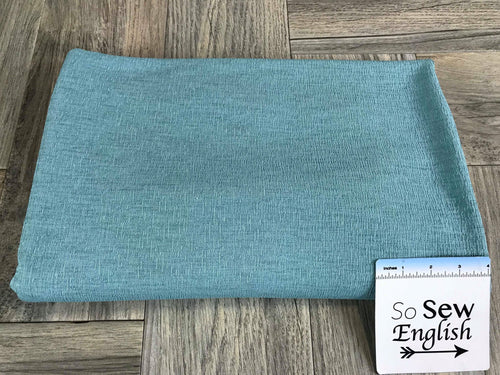 Solid Aqua- Knit Crepe - By the yard