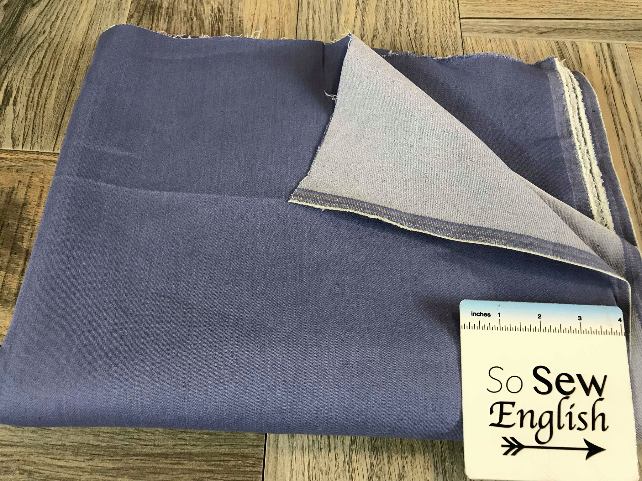 Chambray -Stretch TWILL - By the yard