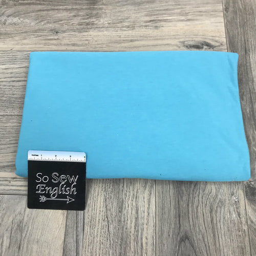 Solid TURQUOISE Poly Rayon Spandex -By the yard